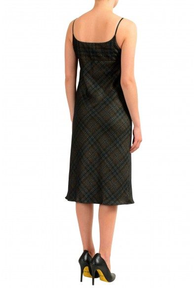 Maison Margiela 1 Women's Wool Spaghetti Strap Sheath Dress: Picture 2