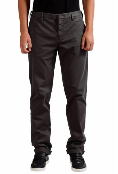 Prada Men's Dark Gray Casual Pants