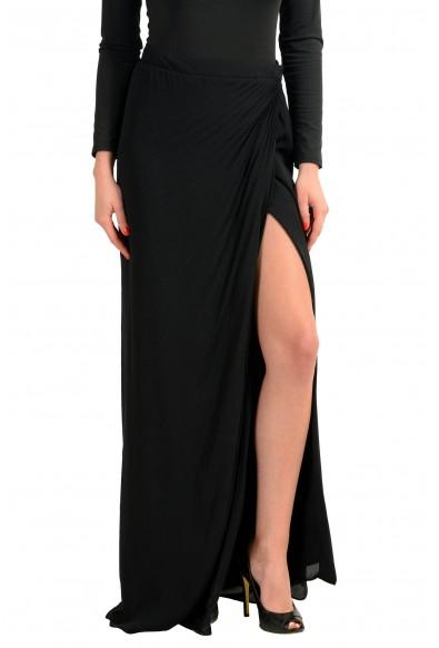 Maison Margiela 4 Black Women's Wrapped Maxi Skirt : Picture 2