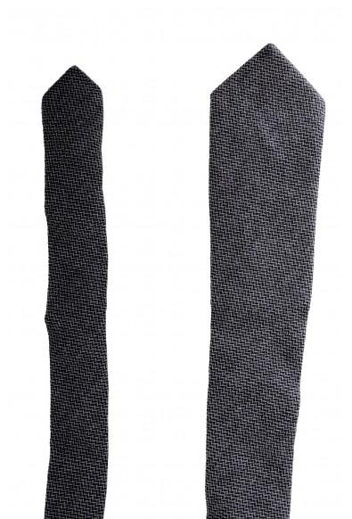 Gianfranco Ferre Men's Gray Geometric Print 100% Wool Neck Tie: Picture 2