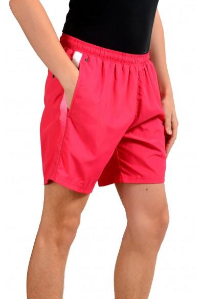 "Hugo Boss ""Seabream"" Men's Raspberry Pink Swim Board Shorts: Picture 2"