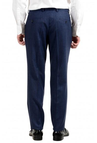 """Hugo Boss """"Novan5/Ben2"""" Men's 100% Wool Blue Plaid Two Button Suit: Picture 2"""