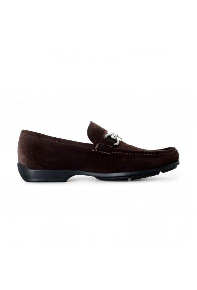 Salvatore Ferragamo Men's Gerolamo 1 Suede Leather Loafers Shoes: Picture 2