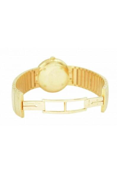 Christian Dior La D De Dior Diamonds Solid Swiss Yellow Gold Watch: Picture 2