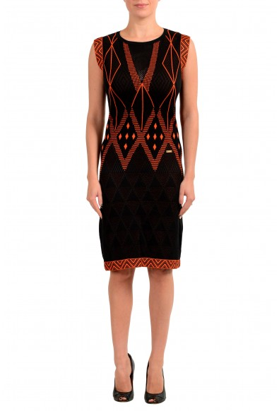 Just Cavalli Women's Multi-Color Knitted Bodycon Dress
