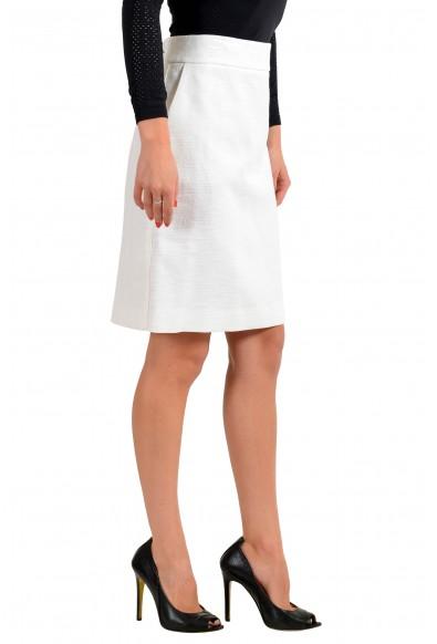 "Hugo Boss Women's ""Rajla"" White A-Line Skirt : Picture 2"