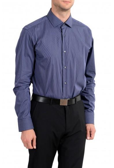 "Hugo Boss ""Gordon"" Men's Regular Fit Stretch Striped Long Sleeve Dress Shirt: Picture 2"