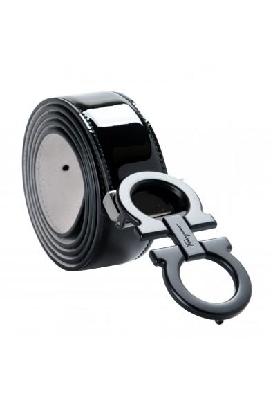 Salvatore Ferragamo 100% Leather Black Men's Belt