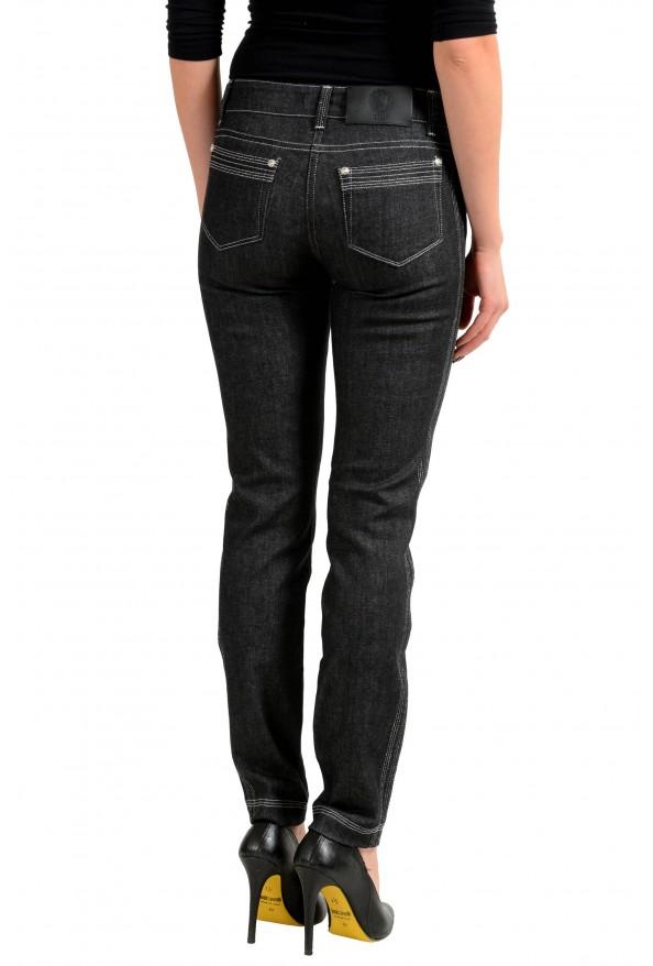 Versace Versus Gray Slim Fit Women's Jeans: Picture 3