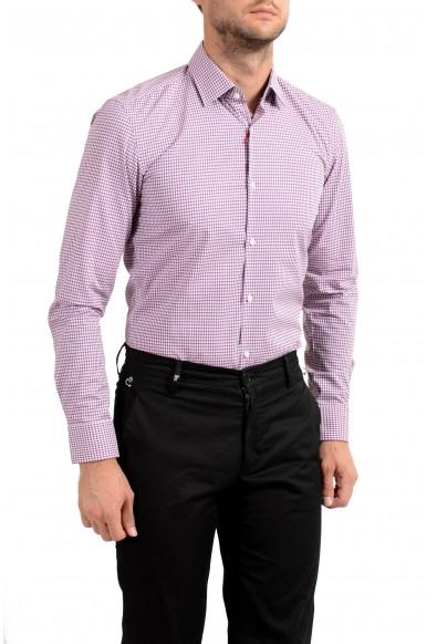 "Hugo Boss Men's ""C-Joey"" Slim Fit Plaid Long Sleeve Dress Shirt : Picture 2"