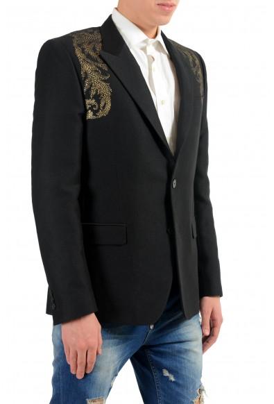 Versace Collection Men's Silk Detailed Blazer Sport Coat : Picture 2