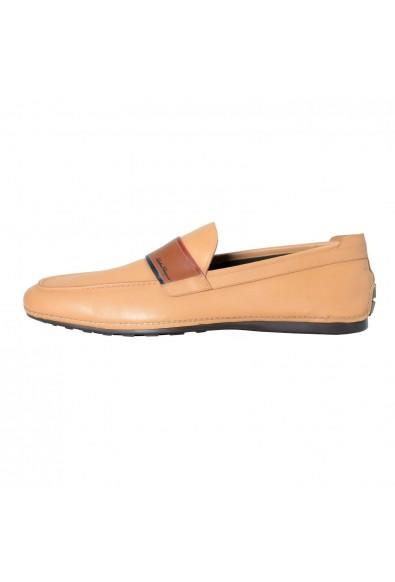 "Salvatore Ferragamo ""Florida"" Men's Leather Beige Loafers Slip On Shoes: Picture 2"