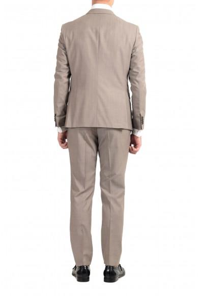"Hugo Boss ""Reymond/Wenten"" Men's 100% Wool Beige Two Button Suit: Picture 2"