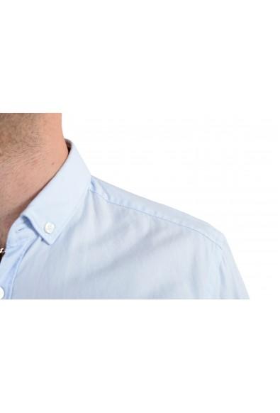 "Hugo Boss Men's ""Rikard_51"" Blue Slim Fit Long Sleeves Casual Shirt: Picture 2"
