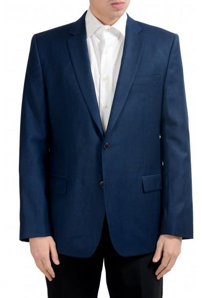 Versace Collection Men's 100% Wool Blue Blazer Sport Coat