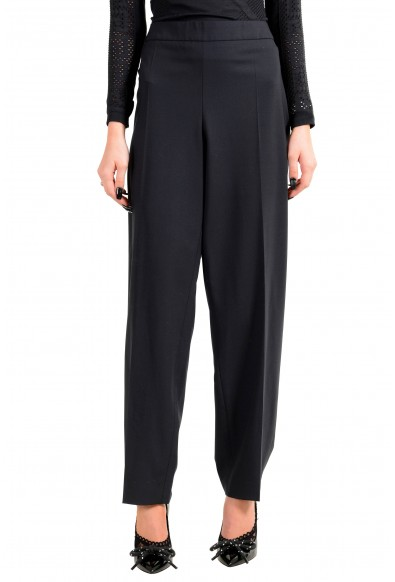"Hugo Boss Women's ""Tenora"" Black Wool Dress Pants"