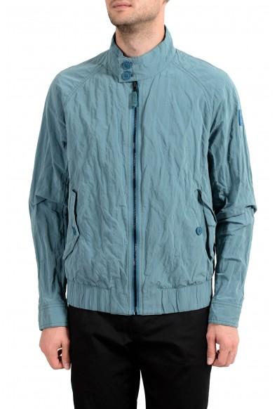 """Hugo Boss """"Ononi"""" Men's Blue Full Zip Windbreaker Jacket"""