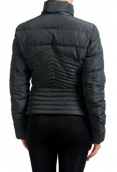 Versace Collection Black Goose Down Women's Parka Jacket : Picture 2