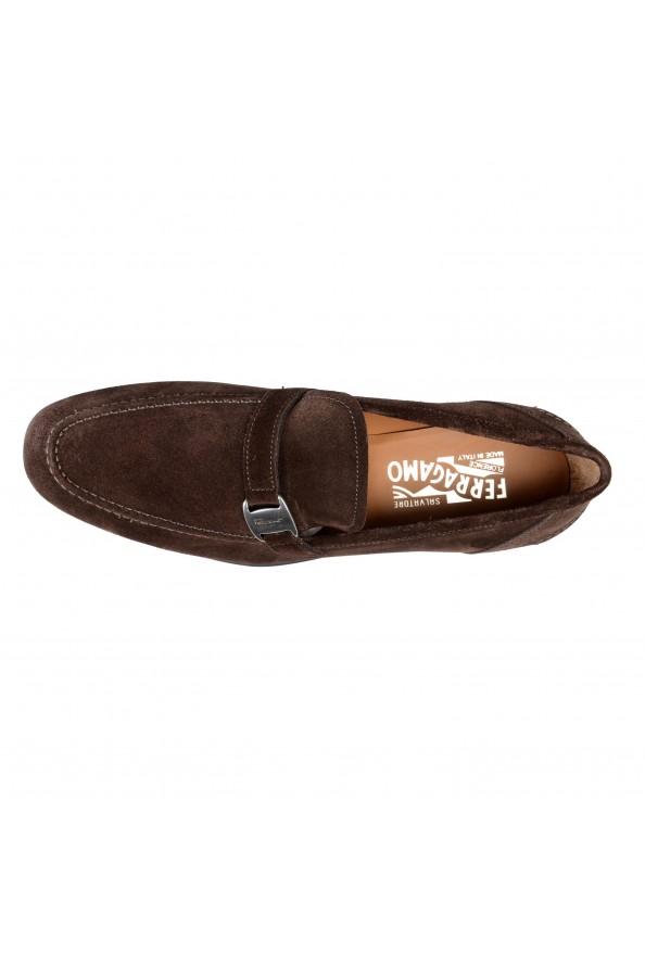 "Salvatore Ferragamo Men's ""Tangeri 2"" Brown Suede Leather Slip On Loafers Shoes: Picture 3"