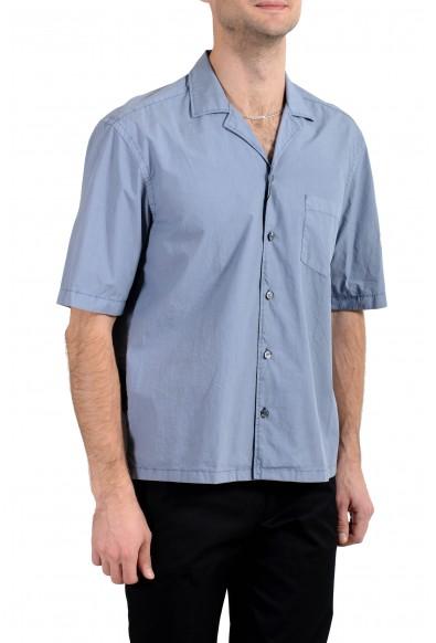 "Hugo Boss ""Lello_P"" Men's Regular Fit Gray Short Sleeve Casual Shirt : Picture 2"