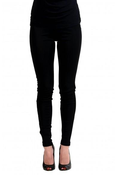 Maison Margiela 4 Black Elastic Waist Women's Leggings