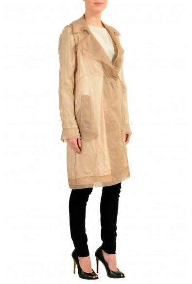 Maison Margiela 1 100% Silk Multi-Color Women's Trench Coat: Picture 2