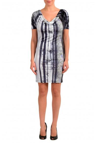 Maison Margiela MM6 Women's Multi-Color Stretch Bodycon Dress