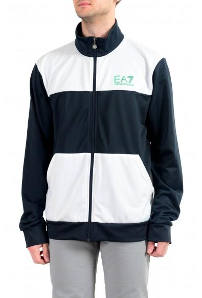 """Emporio Armani EA7 """"Train Tri"""" Men's Multi-Color Full Zip Track Jacket"""