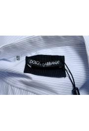 Dolce & Gabbana Men's Striped Long Sleeve Dress Shirt: Picture 5