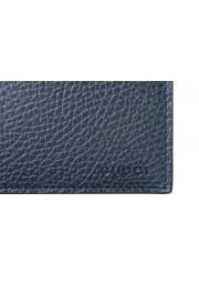 Gucci 100% Leather Navy Men's Bifold Wallet: Picture 5
