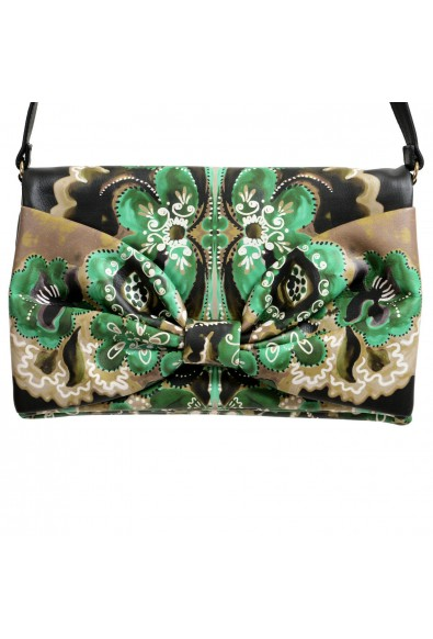 Red Valentino Women's Multi-Color Bow Decorated Clutch Shoulder Bag: Picture 2