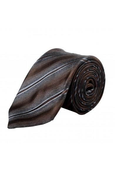 Gianfranco Ferre Men's Multi-Color 100% Silk Striped Neck Tie