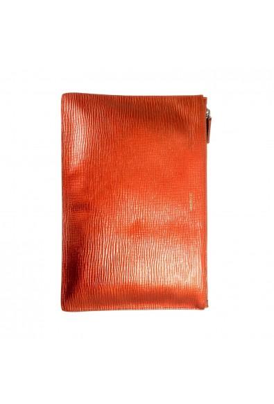 Jil Sander 100% Leather Gold Women's Clutch Bag: Picture 2