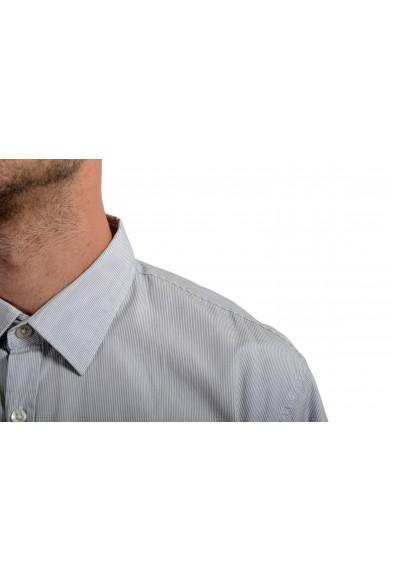 "Hugo Boss Men's ""Ronn_1"" Slim Fit Striped Short Sleeve Casual Shirt: Picture 2"