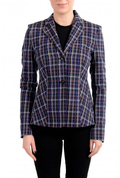 "Hugo Boss Women's ""Jitania"" Multi-Color Two Button Blazer"