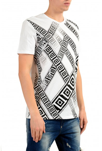 Versace Collection Men's White Graphic Print T-Shirt : Picture 2