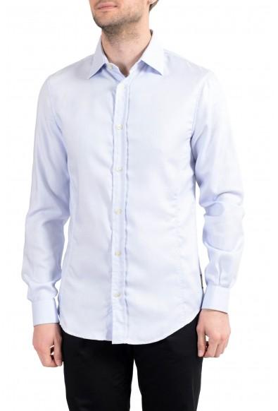 Armani Jeans AJ Men's Light Blue Long Sleeve Casual Shirt