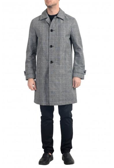 """Hugo Boss """"Gerome"""" Men's Linen Trench Coat"""