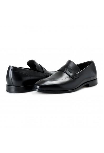 """Hugo Boss Men's """"Highline_Loaf_bupe"""" Black Leather Loafer Slip On Shoes: Picture 2"""