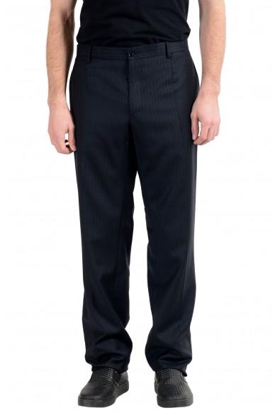 Dolce&Gabbana Men's 100% Wool Striped Dress Pants