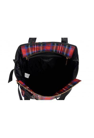 Versace Leather Trim Multi-Color Checkered Men's Bag: Picture 2