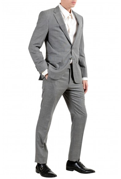 """Hugo Boss """"T-Harvers4/Glover3"""" Men's Silk Wool Gray Slim Two Button Suit: Picture 2"""