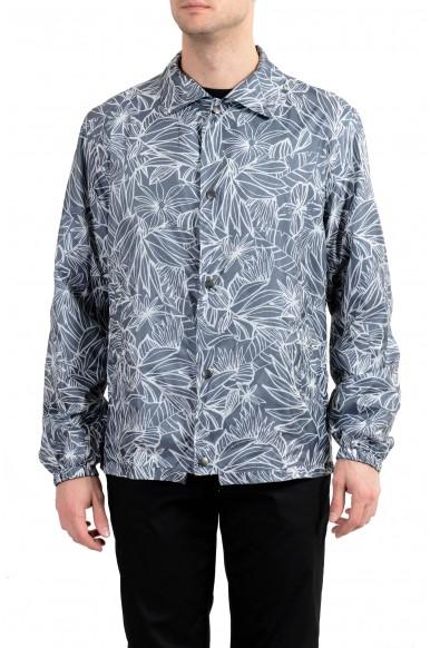 """Hugo Boss """"Coach2"""" Men's Reversible Button Up Windbreaker Jacket"""