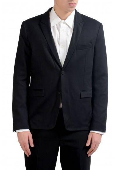 "Hugo Boss Orange ""Barka_BS"" Men's Black Blazer Sport Coat"