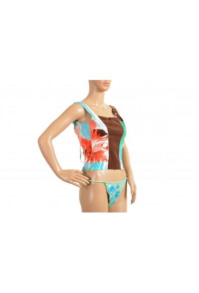 Roberto Cavalli Women's Multi-Color Corset Bustier Top : Picture 2