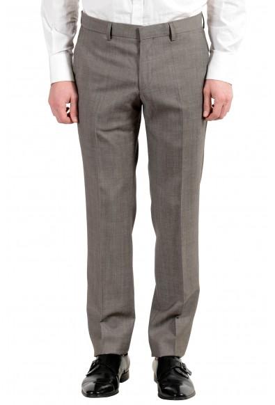 "Hugo Boss ""Halsey2/Merrill2"" Men's 100% Wool Brown Two Button Suit: Picture 2"