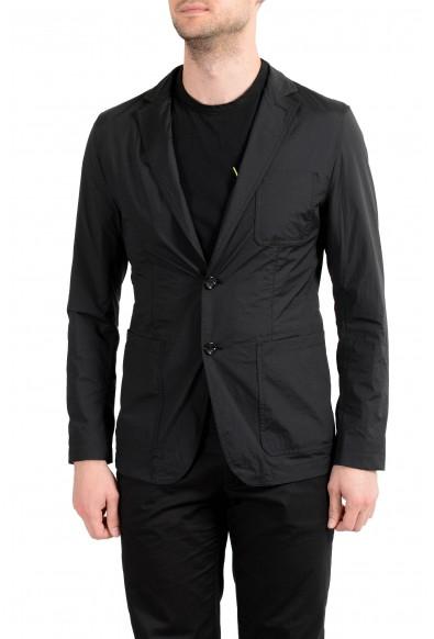 "Hugo Boss ""Noas1"" Men's Black Packable Two Button Blazer Sport Coat"