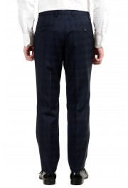 "Hugo Boss ""Johnstons2/Lenon"" Men's 100% Wool Blue Plaid Two Button Suit: Picture 7"
