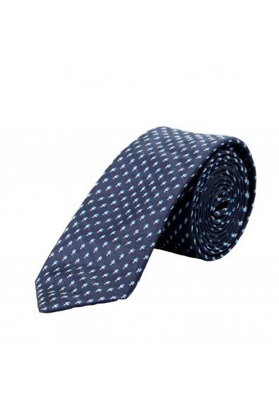 Hugo Boss Men's Multi-Color Floral Print 100% Silk Tie