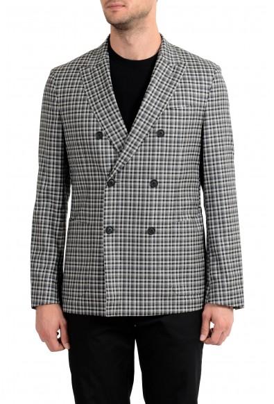 "Hugo Boss ""Nayler-J"" Men's 100% Wool Slim Double Breasted Blazer Sport Coat"